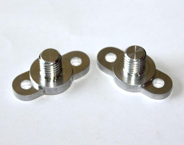 M8异形铝极柱加工